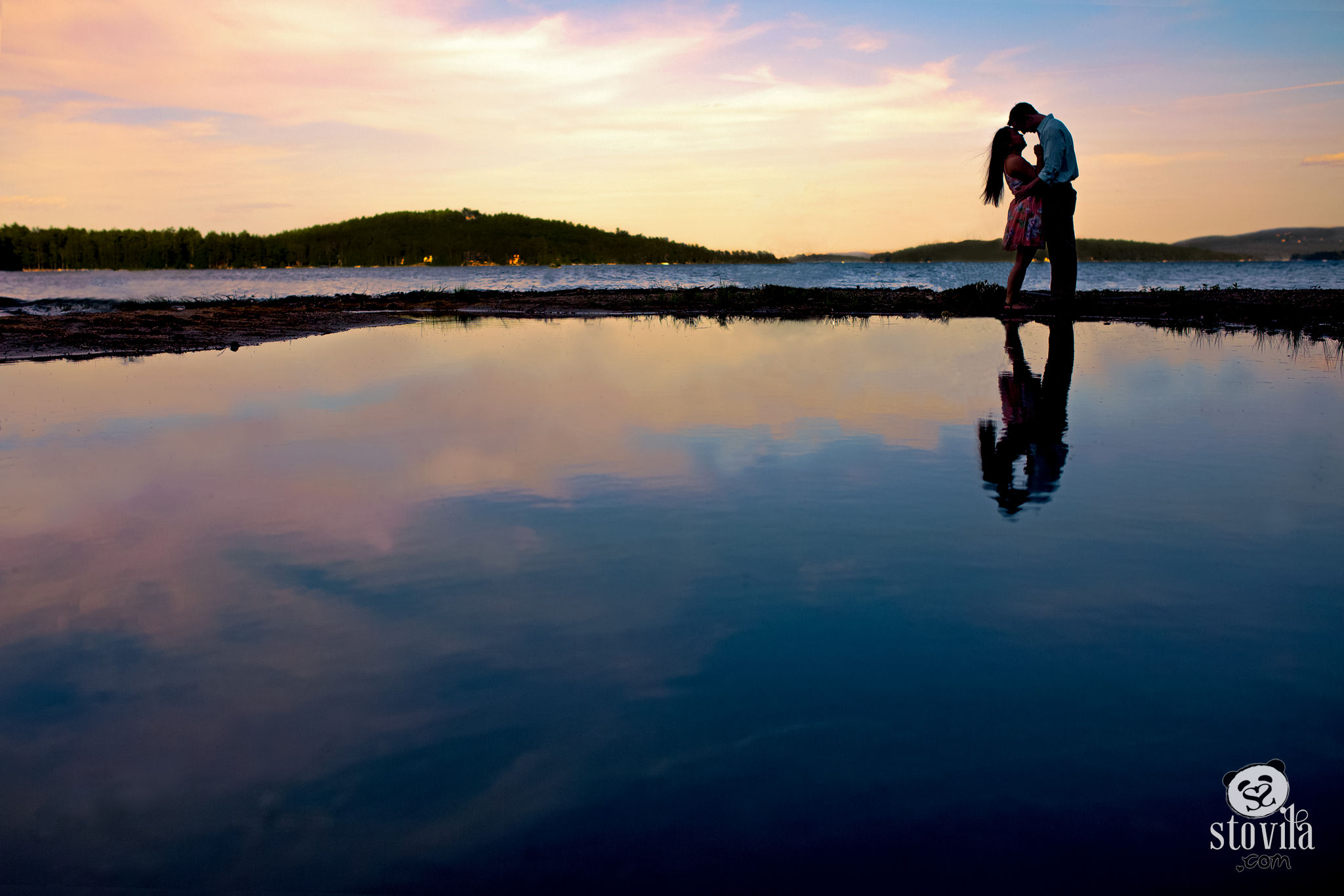 Jake & Rachel Engagement - Lake Winnipesaukee, NH | Boston & NH Wedding Photographers - STOVILA // Modern Professional Affordable 12