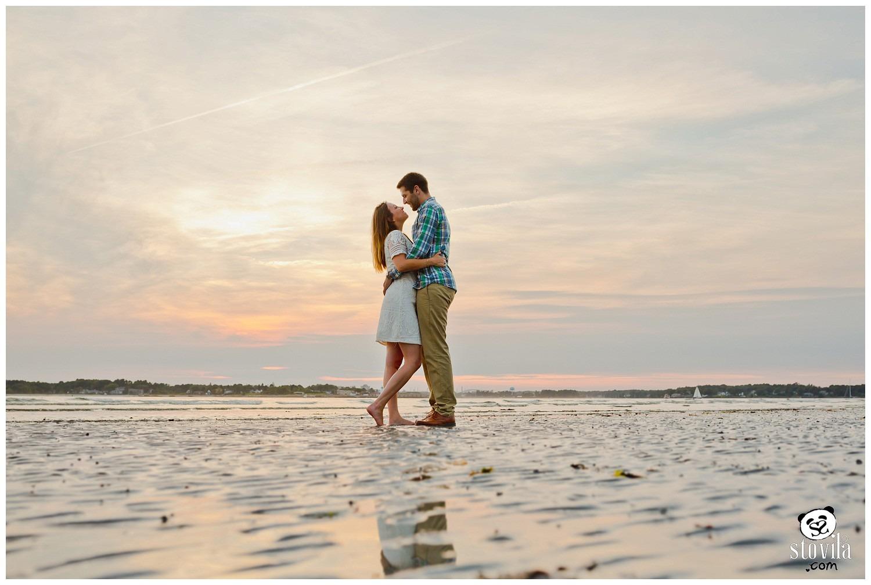 Alyssa & Tucker Engagement Session | Boston & NH Wedding Photographers - STOVILA // Modern Professional Affordable 6