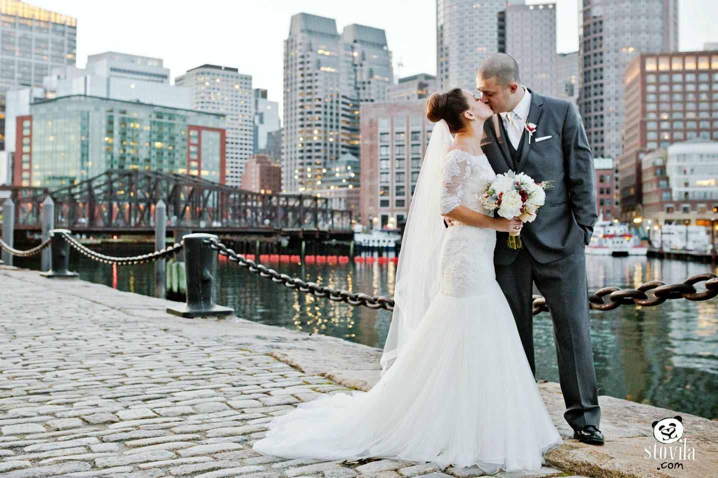 Kristen & Bryan Wedding - Tirrell Room, Quincy MA   Boston & NH Wedding Photographers - STOVILA // Modern Professional Affordable 1