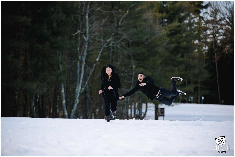 Bryan & Anita E-session - Vaughan Woods State Park, ME   Boston & NH Wedding Photographers - STOVILA // Modern Professional Affordable 1
