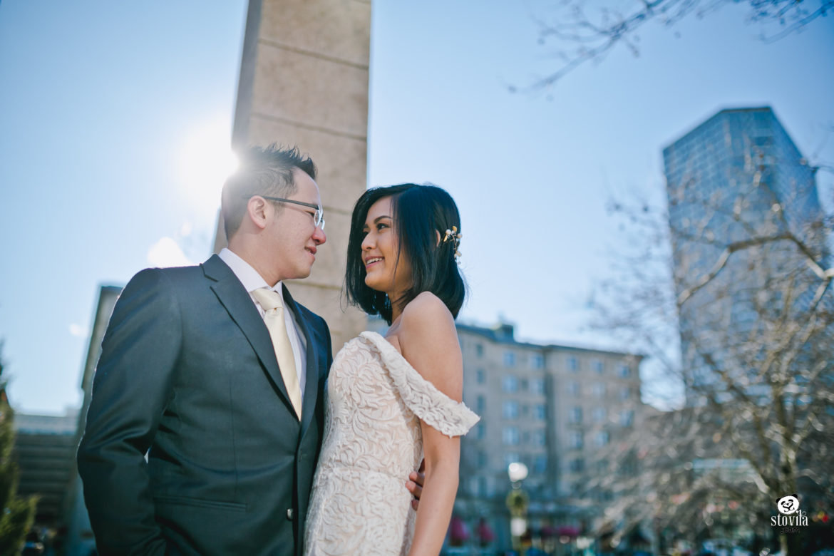 Harry & Grace Engagement, Ice Castle NH & Boston MA | Boston & NH Wedding Photographers - STOVILA // Modern Professional Affordable 14