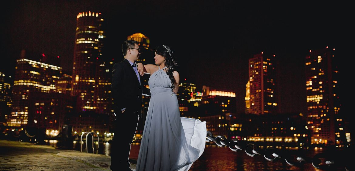 NH Wedding Photographers - by Stovila Mike & Em Engagement Session, Boston Public Garden, Fan Pier, Charles River 10
