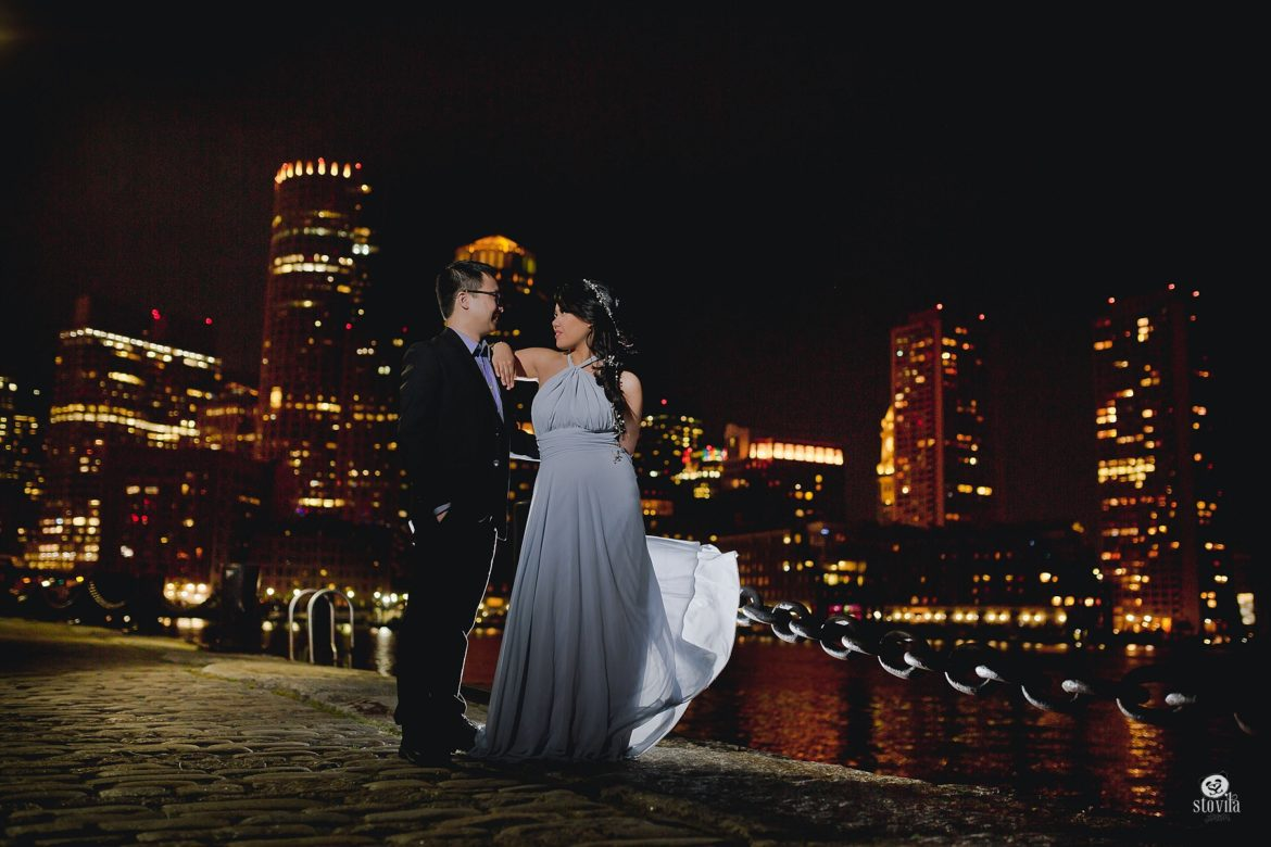 Mike & Em Engagement Session, Boston Public Garden, Fan Pier, Charles River | Boston & NH Wedding Photographers - STOVILA // Modern Professional Affordable 10